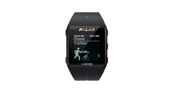 Polar V800 GPS-Sportuhr schwarz
